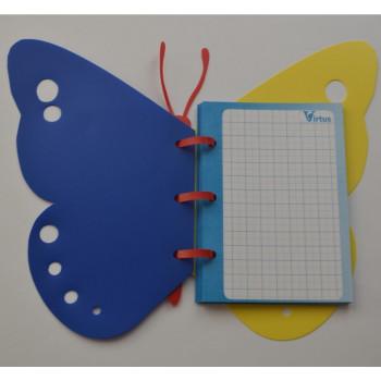Сувенирный блокнот «Бабочка-К»